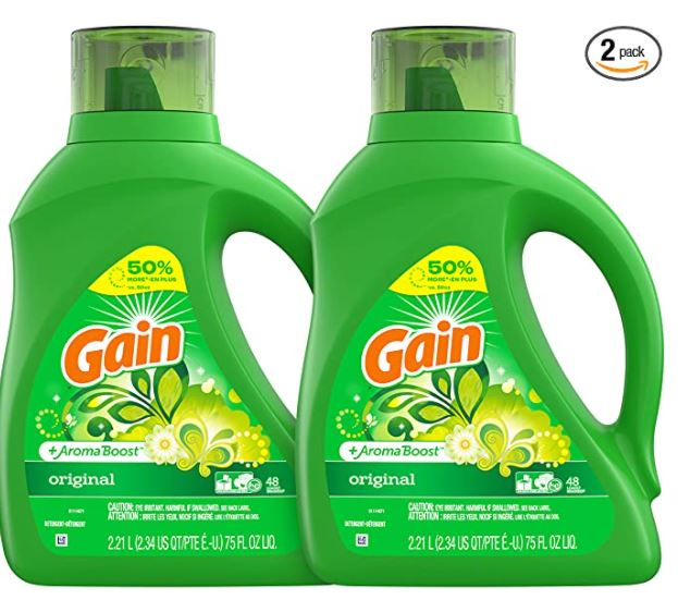 gain detergent two pack