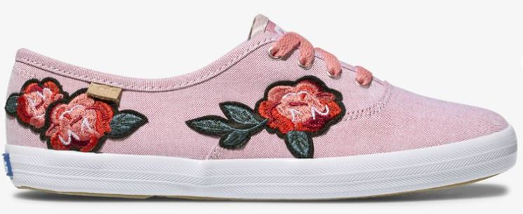 applique keds shoes