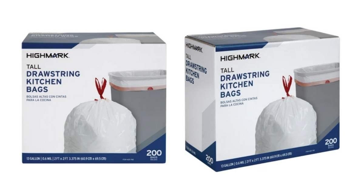 kitchen trash bags