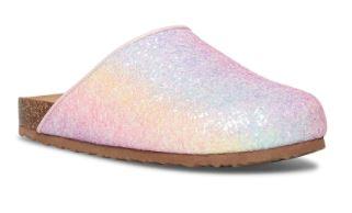 steve madden kids glitter slippers