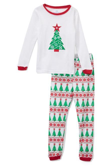 piyama pohon natal