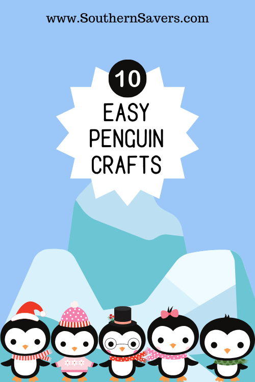 On a cold winter's day, sometimes having something simple but fun to do can turn the day around. Here are 10 easy penguin crafts to do with your kids!