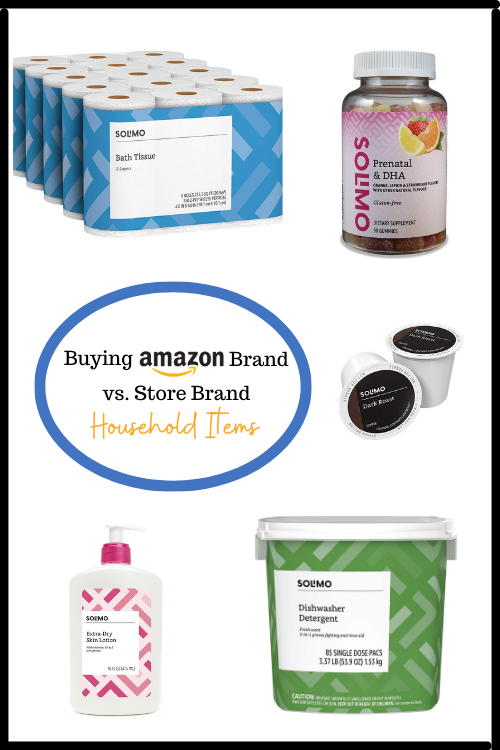 Amazon memiliki merek sendiri, Solimo, untuk perlengkapan rumah tangga. Tetapi apakah layak untuk membeli merek Amazon vs. merek toko? Lihat grafik perbandingan saya!