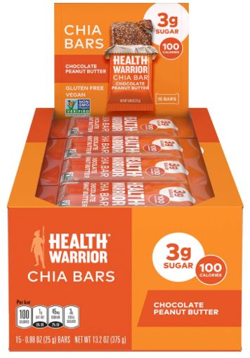 health warrior chia bars