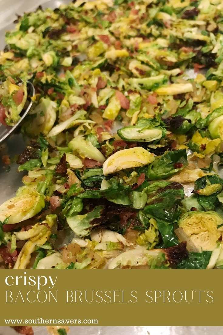 crispy bacon brussels sprouts pinterest