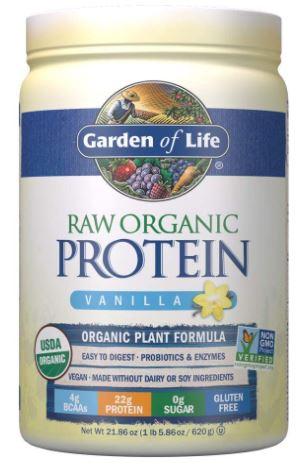 garden of life protein powder