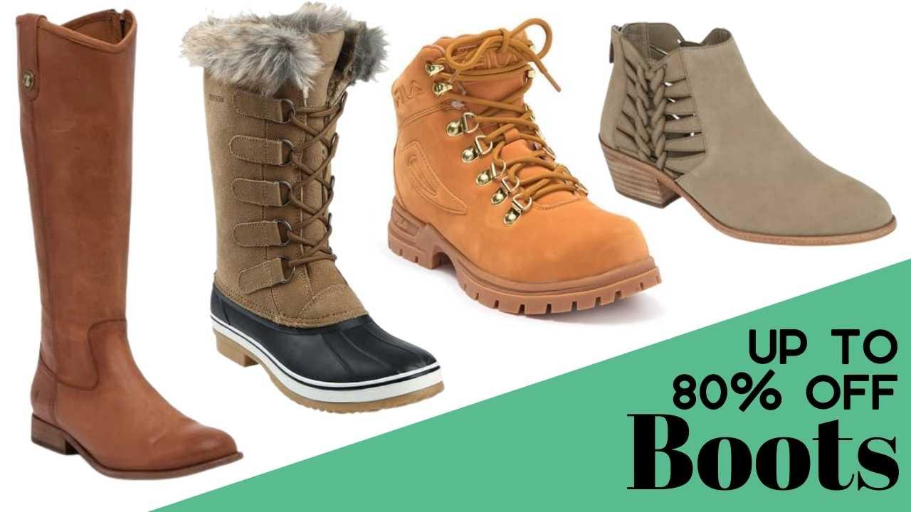nordstrom rack women's boots deal