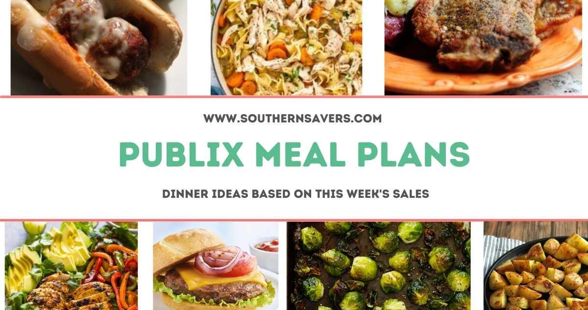 publix meal plans 113