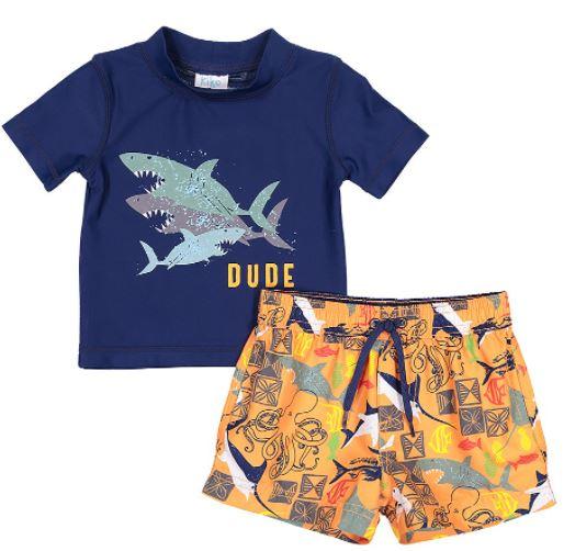 toddler boy rashguard set
