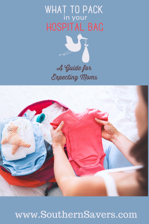 Whether you're a first or fourth time mom, it's always good to have a reminder about what to pack in a hospital bag—for you, your partner, and the baby!
