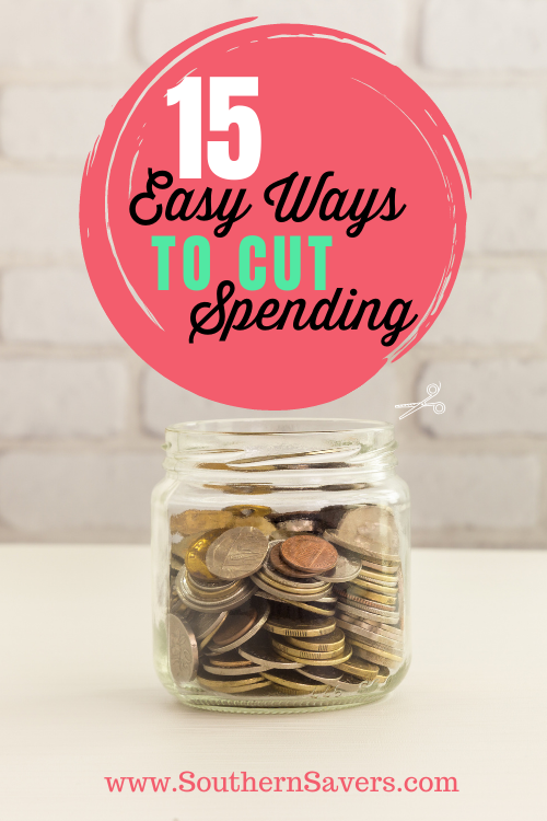 If you are having a hard time meeting your budget every month, consider trying one of these 15 easy ways to cut spending.