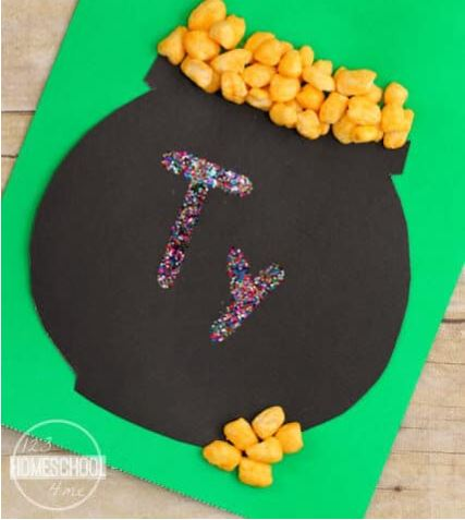 pot of gold cereal craft