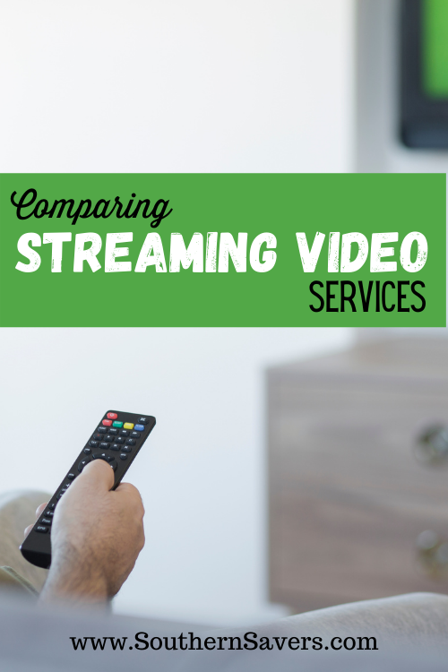 There are so many options to watch TV or movies from your home—but which is the best for you? I'm comparing streaming video services across the board!