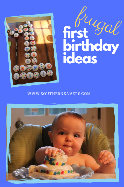 When your child turns one, you don't have to do something expensive to celebrate. These frugal first birthday ideas will help you focus on what's important!
