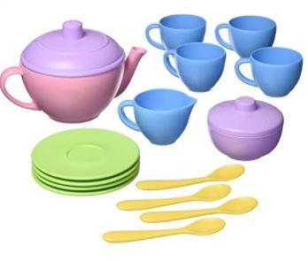 plastic tea set