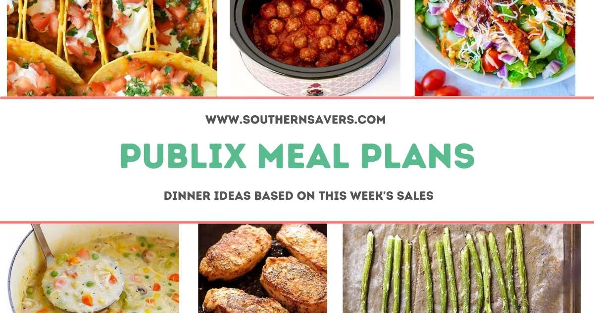 publix meal plans 2/17