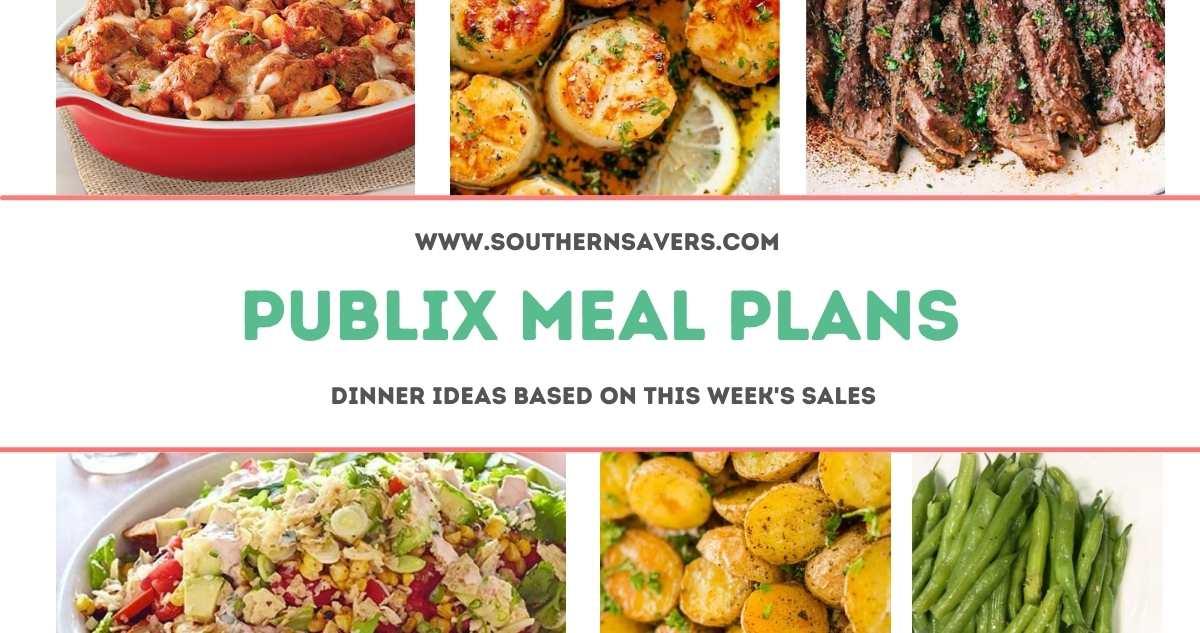 publix meal plans 2/24