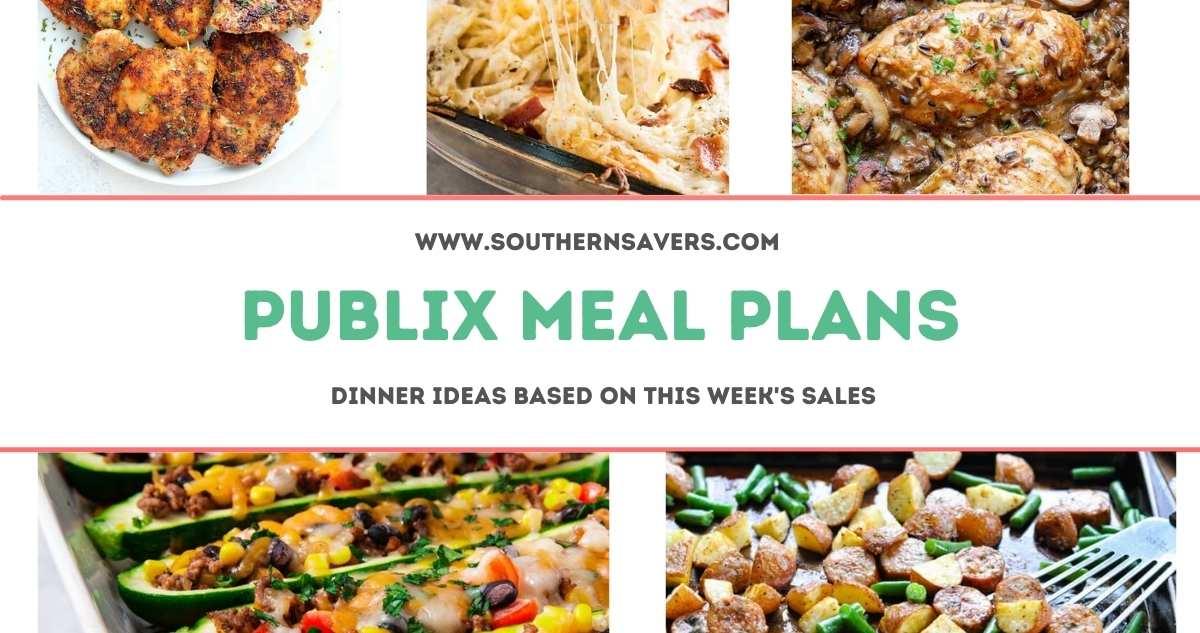 publix meal plans 2/3