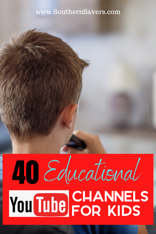 YouTube is a great resource if you know where to look. Redeem screen time with these 40 educational YouTube channels for kids!