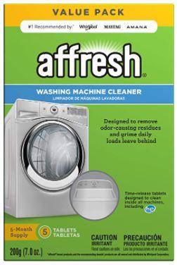 affresh washing machine cleaner