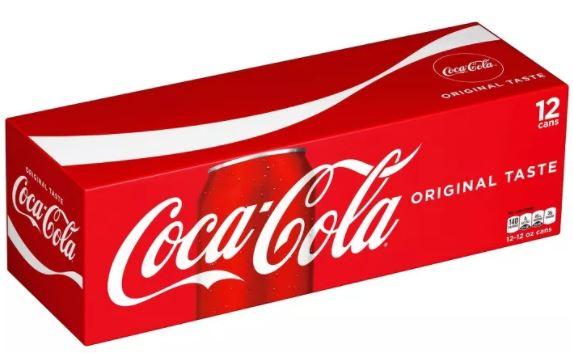 coca-cola classic cans