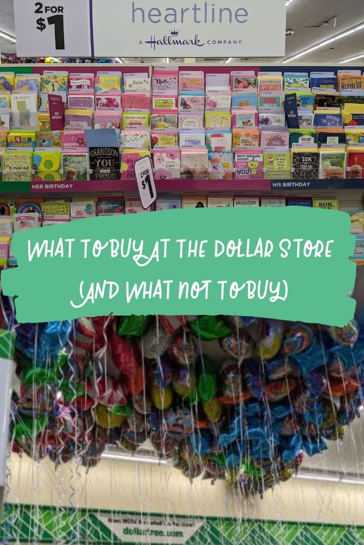 What To Buy At The Dollar Store (And What Not To Buy)
