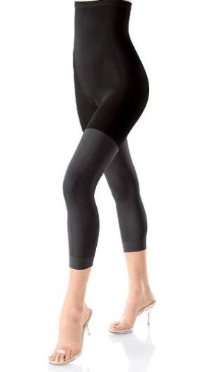 footless shaping tights