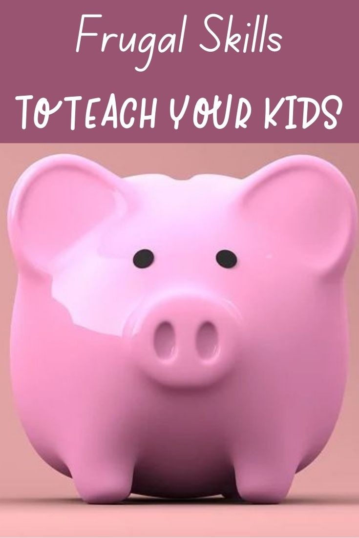 We teach our kiddos to tie their shoes, read, and ride a bike but don't forget to include life lessons on frugality! Rather than a lecture, lead by example and include hand on activities!