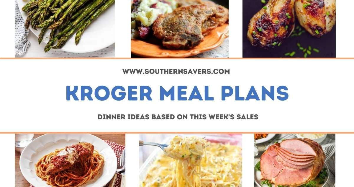 kroger meal plans 3/24