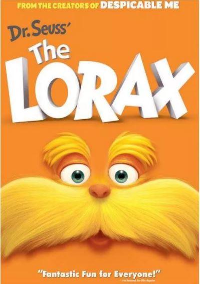 lorax the movie dvd