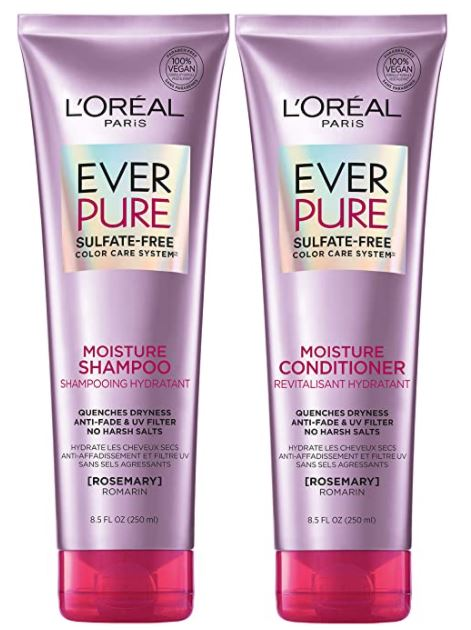 l'oreal everpure shampoo and conditioner