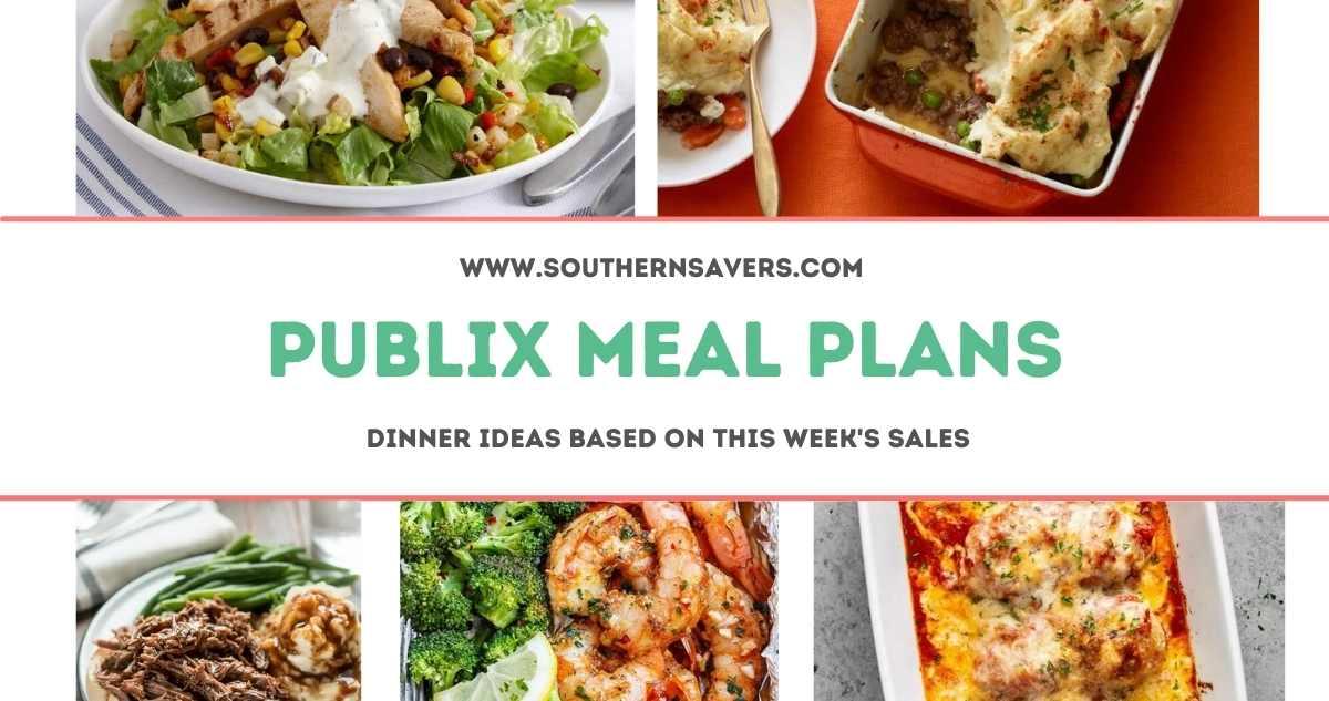 publix meal plans 3/10