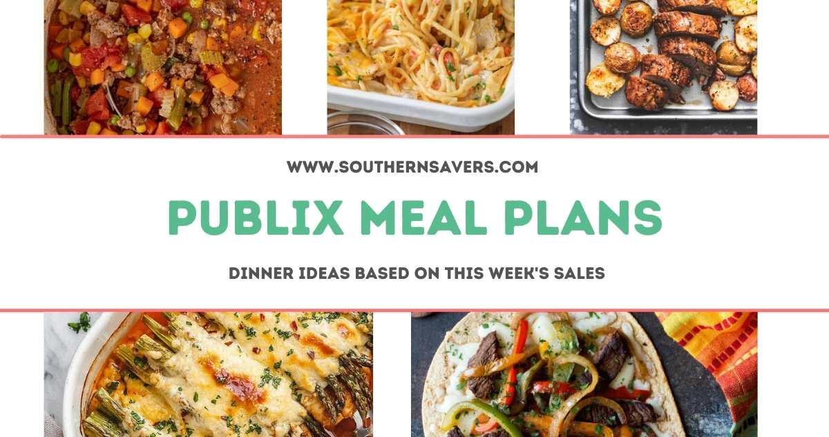 publix meal plans 3/17