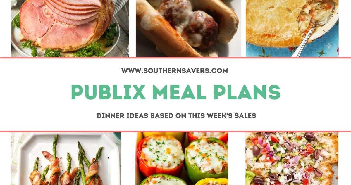 publix meal plans 3/24