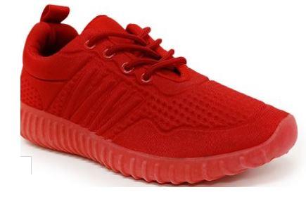 red honey sneakers