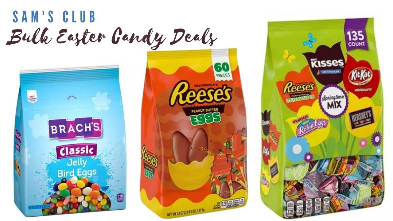 sam's club easter candy deals