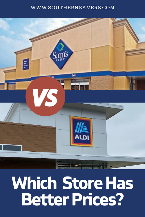 If you don't want to do coupons but still want a good deal, you have to compare prices.What about Sam's Club vs. Aldi? See which store has better prices.