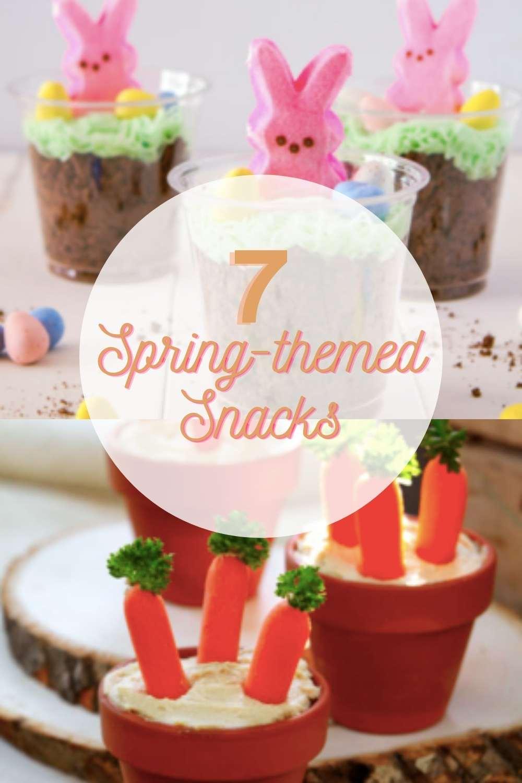 7 Spring-Themed Fun Snacks | Easy for Kids