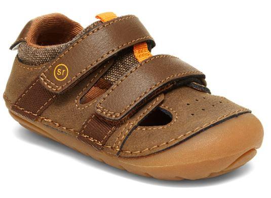 stride rite brown sandal