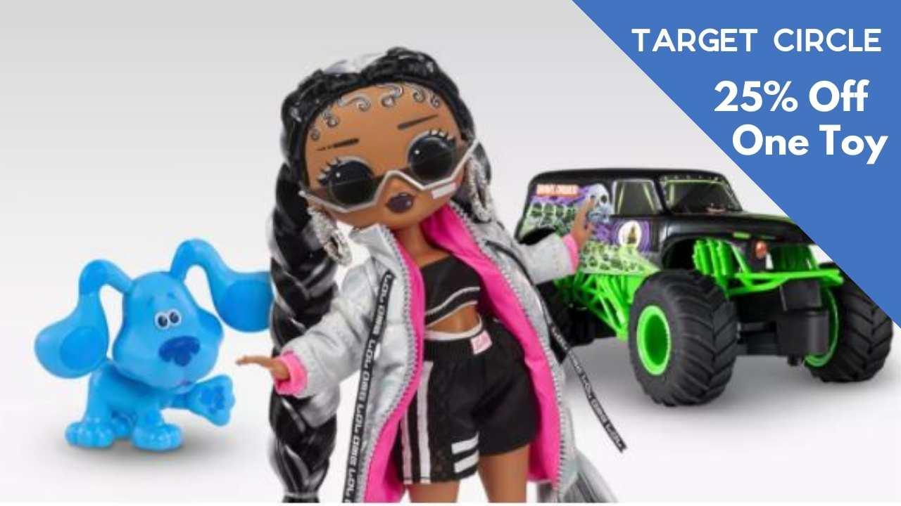 target circle toy coupon