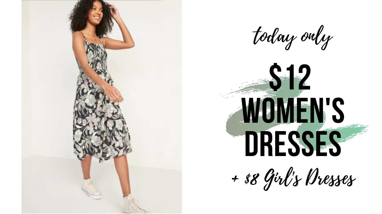 today only old navy dresses