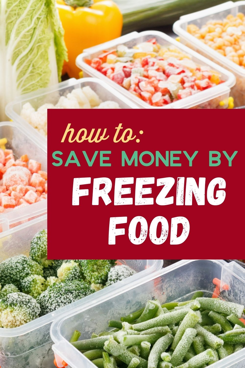 Wondering how to save money by freezing food? Here's a roundup of all the recipes I'll be making soon as well as my best freezer tips!
