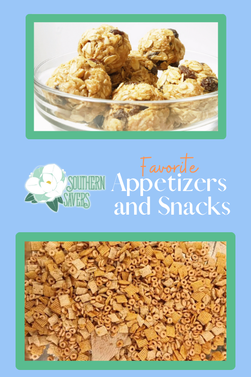 Who doesn't love a yummy snack? Instead of paying full price for junk food from the store, here are some healthy homemade appetizer and snack recipes!