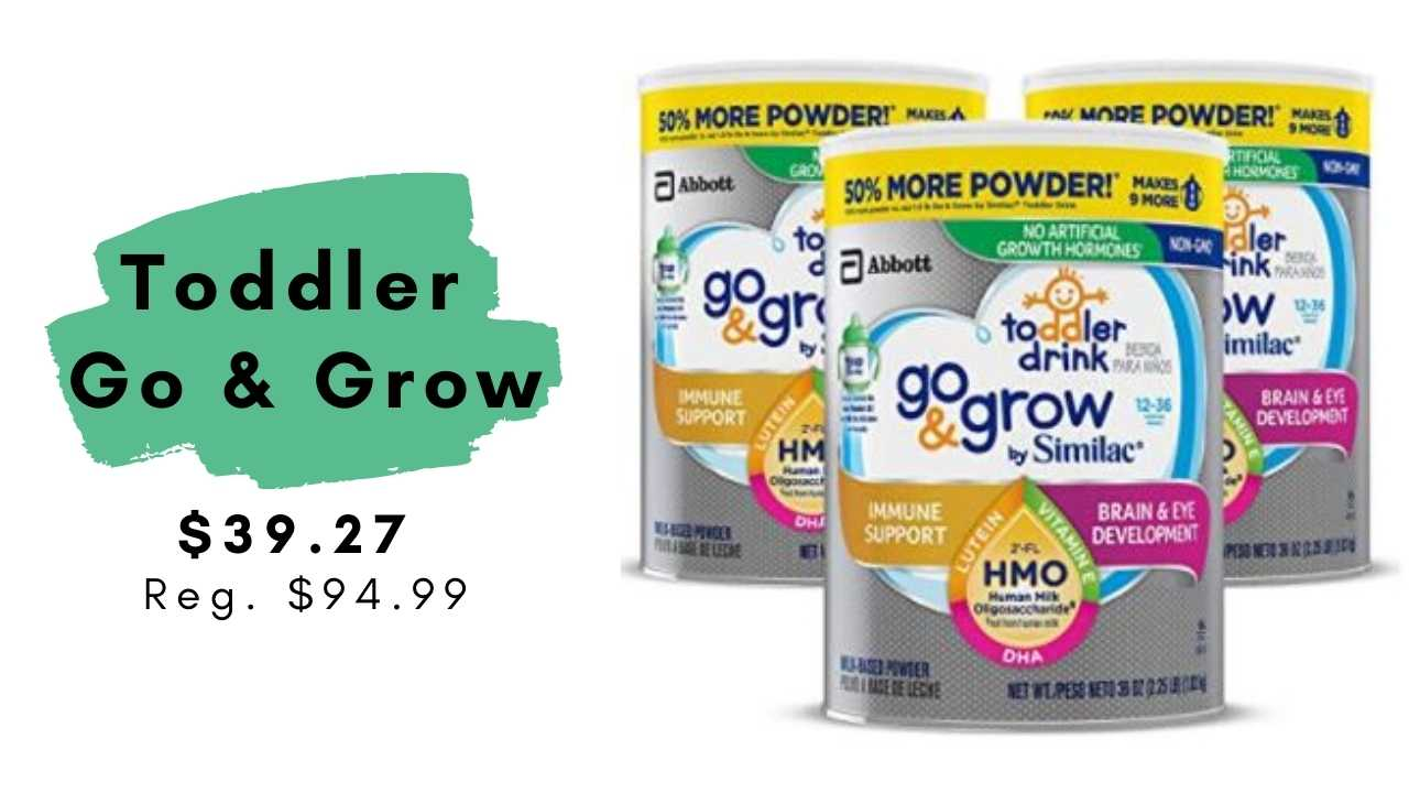 go & grow toddler drink