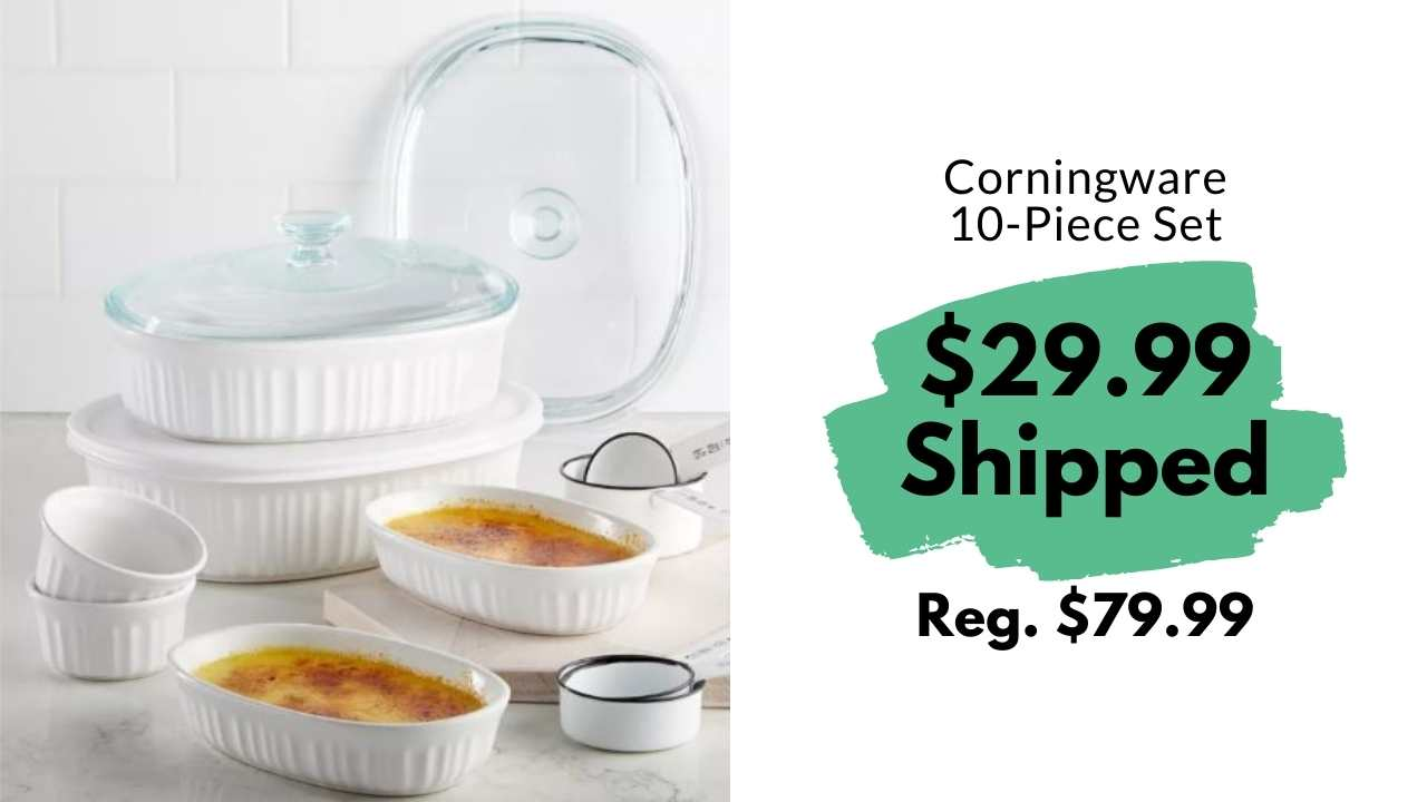 corningware bakeset