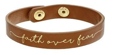 faith over fear bracelet