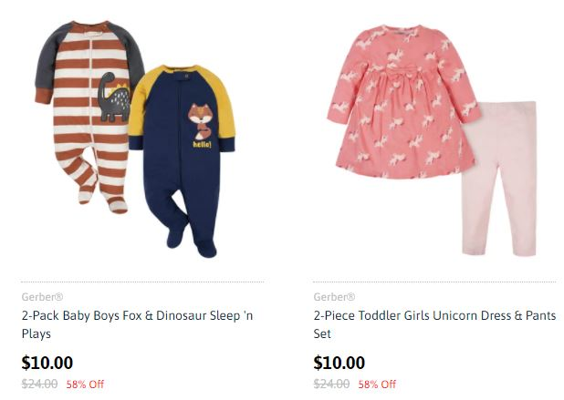 gerber outfits