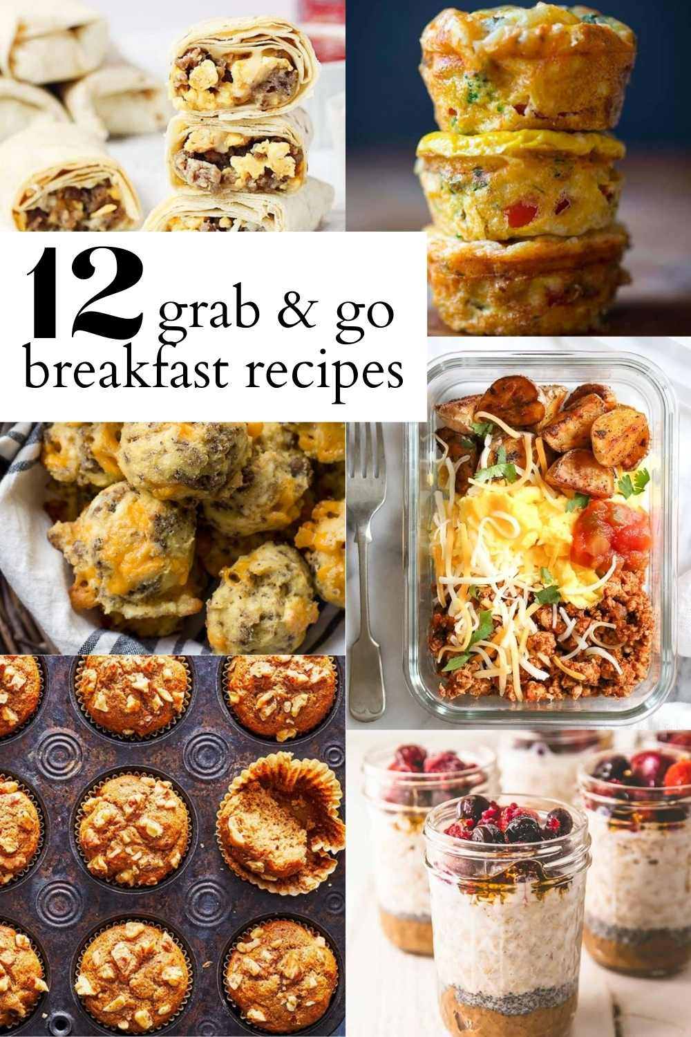 grab and go breakfast recipes pinterest