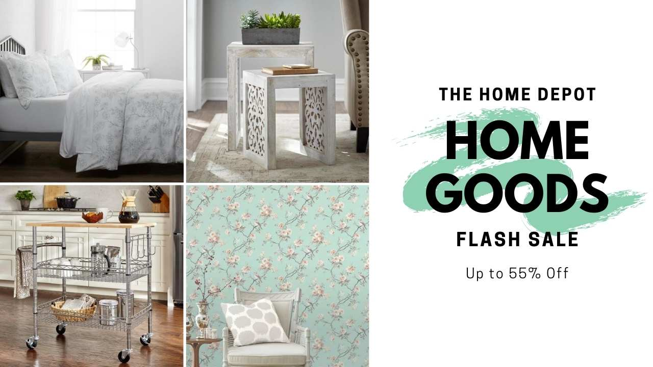 home depot home flash sale