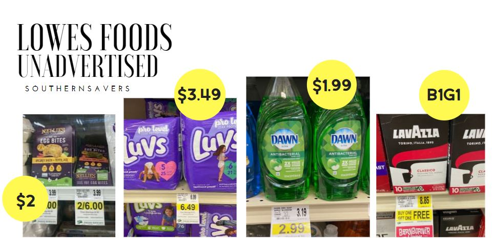 lowes foods unadvertised